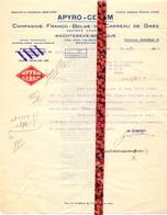 Brief Lettre - Compagnie Apyro Ceram Wachtebeke - Naar Kadaster 1932 + Brief Met Antwoord - Vieux Papiers