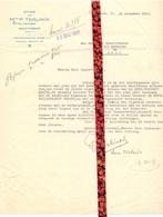 Brief Lettre - Notaris P. Teirlinck Gemeente Wachtebeke - Naar Kadaster 1931 Ivm Eigendom De Mets + Brief Met Antwoord - Vieux Papiers