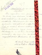 Brief Lettre - Alois Seels - Schelstraete Wachtebeke - Naar Kadaster 1932 + Brief Met Antwoord - Vieux Papiers