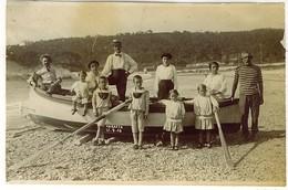 GENOVA VARAZZE FOTOGRAFICA BARCA 1915 Foto Pancani - Genova (Genoa)