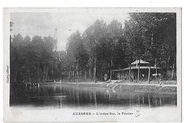 Auxerre. La Piscine à L'arbre Sec. - Auxerre
