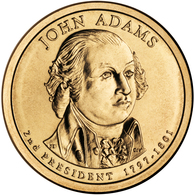 2007 • $1 • US President John Adams - Emissioni Federali