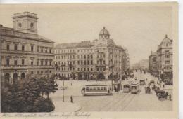 AK 0297  Wien - Althanplatz Mit Franz Josefs-Bahnhof / Verlag B.K.W.I. Ca. Um 1920 - Wien Mitte