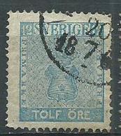Timbre Suede 1858 - Gebraucht