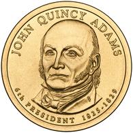 2008 • $1 • US President John Quincy Adams - Emissioni Federali