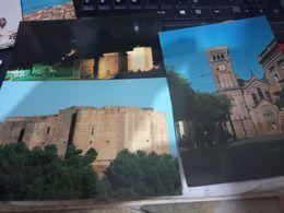 3 CARD MIGLIONICO  PIAZZA VEDIUTA E CASTELLO  N1980/85 HE93 - Matera
