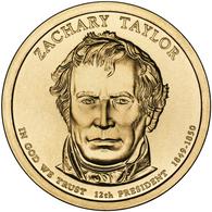 2009 • $1 • US President Zachary Taylor - 2007-…: Presidents