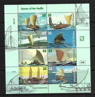MARSHALL 1999 CANOES  YVERT N°1077/84 NEUF MNH** - Bateaux