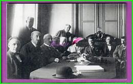 61 Orne ARGENTAN Reproduction Photo Papier - Les Autorités Sur La Table Le Drapeau Blanc Jean Wolf - Reproductions