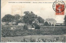 44       Domaine Et  Musée  Des  CLEONS    CHATEAUX De LOIRE INFERIEURE -  ( Canton De VERTOU ) - Francia