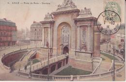CPA  - 6. LILLE - Porte De Paris - Derrière - Lille
