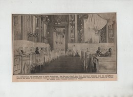 Ambulance Palais Du Quirinal Reine Elena Jeunes  Princesses Blessés - 1914-18