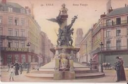 CPA  - 44. LILLE - Statue Testelin - Lille