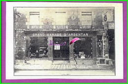 61 Orne ARGENTAN Reproduction Photo Papier - Boulevard Carnot - Le Grand Garage D'Argentan Véhicule Dedans - Reproductions