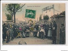 MONTREUIL : Barriere De Montreuil, Le Marché Au Puces La Tôle à Binoelard - Tres Bon Etat - Montreuil