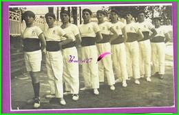 61 Orne ARGENTAN Reproduction Photo Papier - Dans La Du Tramway Gymnastes De Patrouage Laique Année 1930 - Reproductions