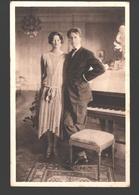 België / Belgique - HH. MM. Koning Leopold III En Koningin Astrid, Te Stockholm - Familles Royales