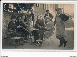 CARTE PHOTO A LOCALISER : Joueurs De Cartes, Jeu, Apero - Etat - Photos