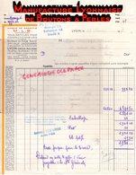69- LYON- CROIX ROUSSE- FACTURE MANUFACTURE LYONNAISE BOUTONS ET PERLES- 3 RUE JACQUARD- 1948 - Textile & Vestimentaire
