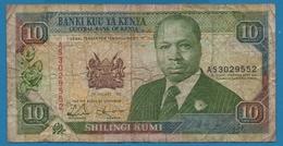 KENYA LOT 10 SHILINGI 1992 + 20 SHILINGI 1990 - Kenya