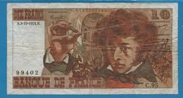 FRANCE 10 FRANCS 3-10-1974 ''Berlioz'' Serie C.95 - 1962-1997 ''Francs''