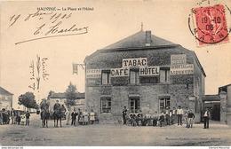 HAUVINE : La Place Et L'hotel - Tres Bon Etat - France