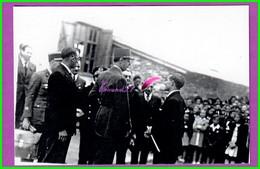 61 Orne ARGENTAN Reproduction Photo Papier - Visite Du Général De Gaulle 10 Juin 1945 Le Maire W. MARTEL M. Christy - Reproductions