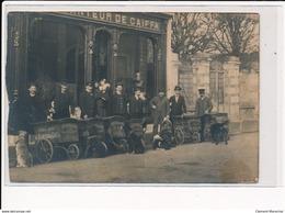 ANGERS : Planteur De Caiffa, Café, Attelage Chien - Etat - Angers