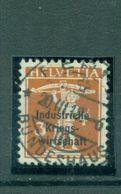 Schweiz, Indusrielle Kriegswirtschaft Auf Tellknabe Nr. 1 II Gestempelt - Officials