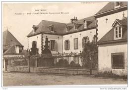 CHATEAULIN - Le Pensionnat (1913) - éditeur MTIL N°860 - Châteaulin