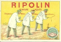 Ripolin, Peinture Laquée, Riproduzione C68, Reproduction, Illustrazione - Pubblicitari