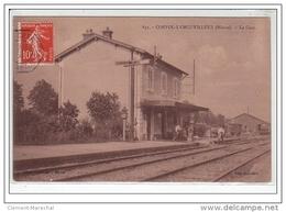 CORVOL L'ORGUEILLEUX : La Gare - Très Bon état - France