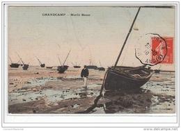 GRANDCAMP : Marée Basse - TOILEE - Très Bon état - Francia