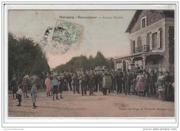 MORSANG-BEAUSEJOUR : Avenue Marthe - état - Morsang Sur Orge