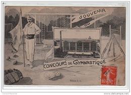 CORBEIL : Souvenir Du Concours De Gymnastique - Très Bon état - Corbeil Essonnes