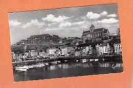 CPSM 14 X 9 * * GRANVILLE * * Le Port, Les Casernes Et L'Eglise Notre-Dame - Granville