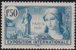France  .   Yvert  .    336   .   *     .     Neuf Avec  Charniere  .  /   .   Mint-hinged - Neufs
