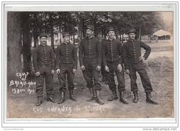 CAMP DU BREAU AVON : 19 Juin 1910 - Les Enfants De L'Eure - CARTE PHOTO - MILITAIRE - Très Bon état - Frankrijk