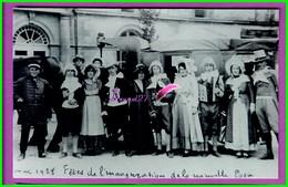 61 Orne ARGENTAN Reproduction Photo Papier - En 1928 Fêtes De L'Inauguration De La Nouvelle Poste - Très Animé - Reproductions