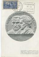 P. Et M. CURIE (Yvert N° 402) Carte Maximum PARIS / 1938 - 1930-39