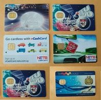 Singapore Cashcards (6 Pieces). For Stephane Only. - Andere Sammlungen