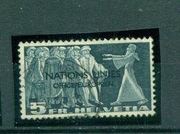 Schweiz, Nationes Unies, Nr. 19 Gestempelt - Servizio