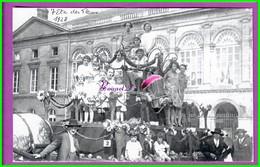 61 Orne ARGENTAN Reproduction Photo Papier - En 1928 Fêtes Des Fleurs La Reine Du Char Mme Betournet Transporteur - Reproductions