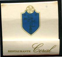 Espagne - Galicia - Pochette D'allumettes - Restaurante Coral Mesón - La Coruña - - Matchboxes