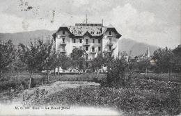 SION → Le Grand Hotel De Sion Anno 1909 - VS Valais