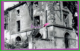 61 Orne ARGENTAN Reproduction Photo Papier - Arrière Du Théâtre Escalier De Secours Pour Le Cinéma  Bombardé 1944 - Reproductions