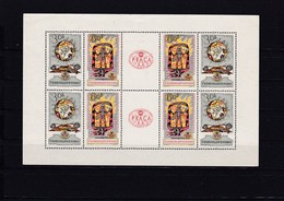 (K 4422c) Tschechoslowakei, KB 1355/56** - Blocks & Sheetlets