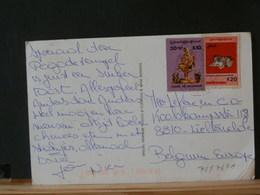 78/738A   CP MYANMAR POUR LA BELG. - Myanmar (Burma 1948-...)