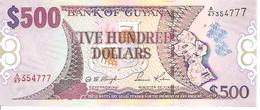 Guyana P-37 500 Dollars 2011 UNC - Guyana