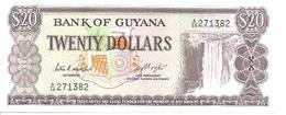 Guyana P-24c 20 Dollars 1983 UNC - Guyana